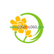 200+ Cool & Creative Flower Logo Design Inspirations ID: 24547