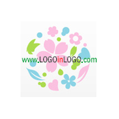 Logo Categories : Floral logo , Flower logo  &  Environmental & Green logo . Logo ID :26833