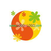 Logo Categories : Floral logo , Flower logo  &  Environmental & Green logo . Logo ID :26829