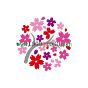 200+ Cool & Creative Flower Logo Design Inspirations ID: 23750