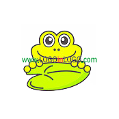 Logo ideas: This is a Frog logo Inspiration.