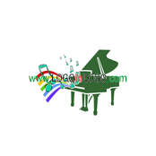 Logo ideas: This is a Piano logo Inspiration.