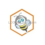 Fantastically Clever Bee Logos ID: 8367