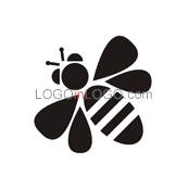 Fantastically Clever Bee Logos ID: 3617