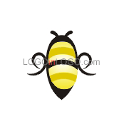 Fantastically Clever Bee Logos ID: 3359