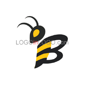 Fantastically Clever Bee Logos ID: 3291