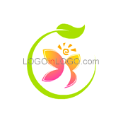 200 Leaf Logos to Increase Your Appetite ID: 3409