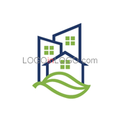 Really Creative Logos for Real-Estate-Mortgage ID: 216