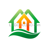 Really Creative Logos for Real-Estate-Mortgage ID: 8062