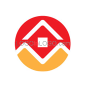 Really Creative Logos for Real-Estate-Mortgage ID: 8240