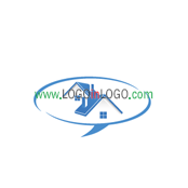 Really Creative Logos for Real-Estate-Mortgage ID: 8753