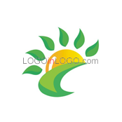 200 Leaf Logos to Increase Your Appetite ID: 6853