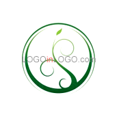 200 Leaf Logos to Increase Your Appetite ID: 1080