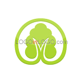 200 Leaf Logos to Increase Your Appetite ID: 6824
