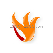 Logo ideas: This is a Fire logo Inspiration.