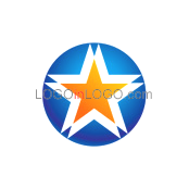 Logo ideas: This is a Five Star logo Inspiration.