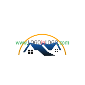 Really Creative Logos for Real-Estate-Mortgage ID: 15355
