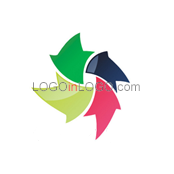 examples of Rotation Logo design ID: 5347