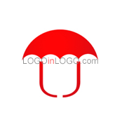 Logo ideas: This is a Umbrella logo Inspiration.