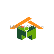 Really Creative Logos for Real-Estate-Mortgage ID: 4304