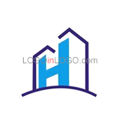 Really Creative Logos for Real-Estate-Mortgage ID: 4295